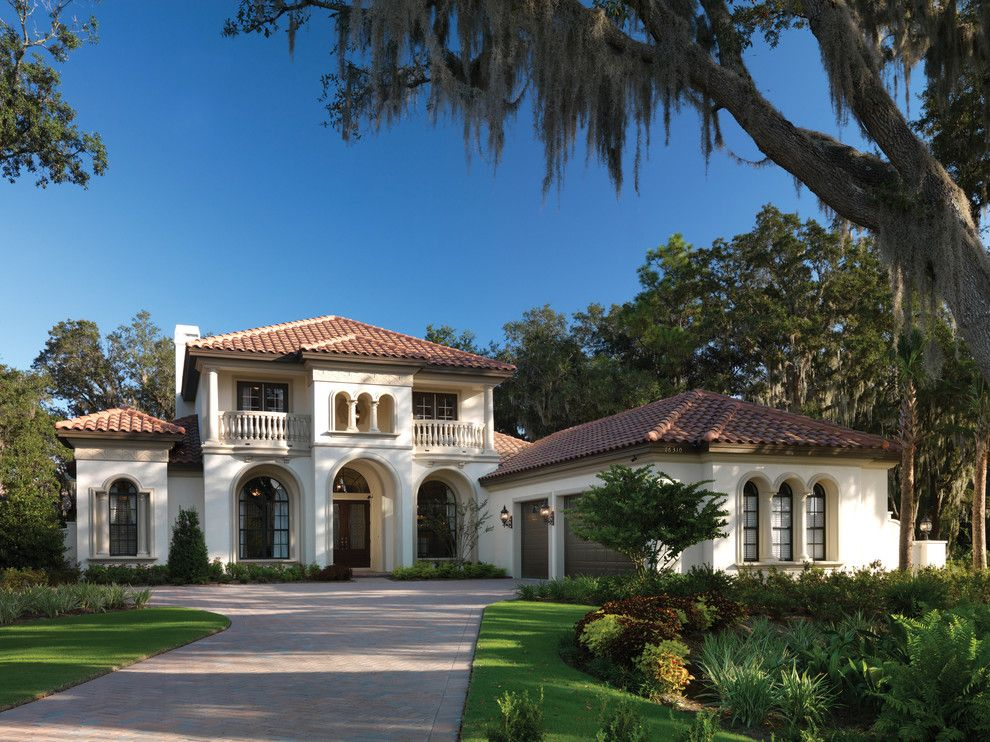 Acadian Style Homes for a Mediterranean Exterior with a Luxury Home and Gulfport 1093 by Arthur Rutenberg Homes
