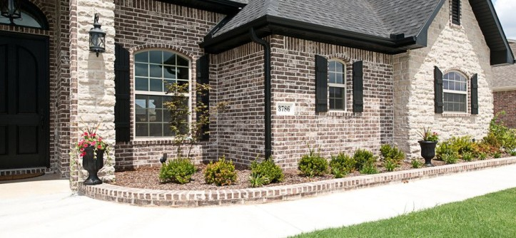 Acme Brick for a  Spaces with a Landscape and Spanish Bay by Acme Brick Company