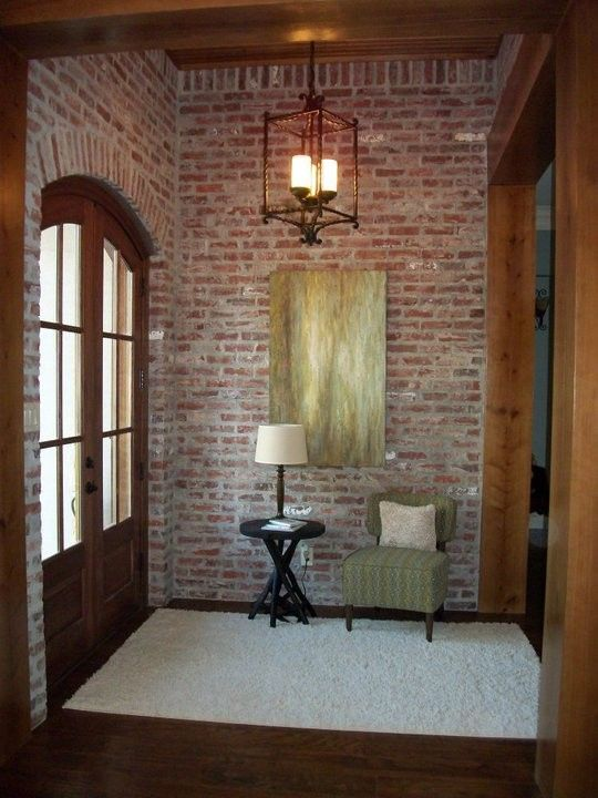 Acme Brick for a Traditional Entry with a Acadian Style and Mclarrin Flooring & Counter Tops by Mclarrin Flooring & Counter Tops