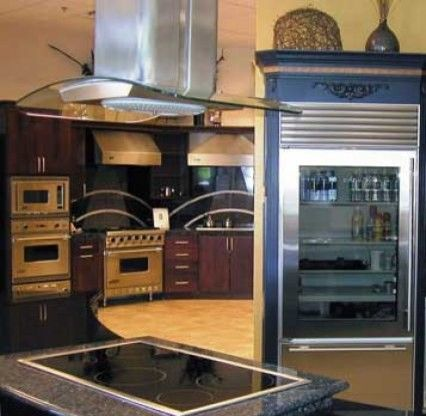Aga Marvel for a Contemporary Kitchen with a Kitchenaid and Home Design Resources by Scottsdale Design Center