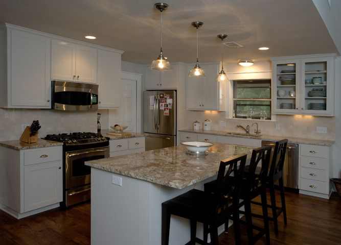 Agm Granite for a Traditional Kitchen with a Traditional and Ag&m Granite by Ag&m (Architectural Granite & Marble)