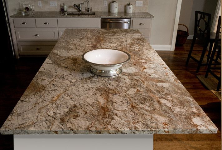 Agm Granite for a Traditional Kitchen with a Typhoon Bordeaux and Ag&m Granite by Ag&m (Architectural Granite & Marble)
