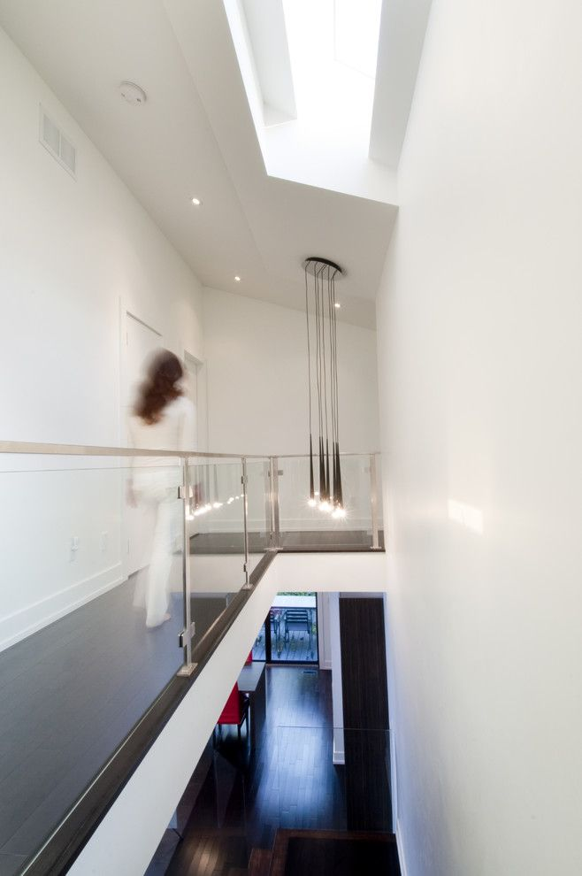 Ags Stainless for a Modern Hall with a Ceiling Lighting and House 99 by Modus Design Studio