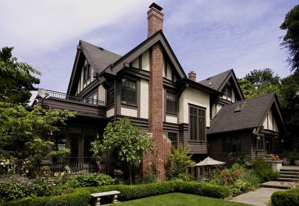 Aia Seattle for a Traditional Exterior with a Hedges and Capitol Hill Renovation by Laurie Carron Architect, Aia I Leed Ga