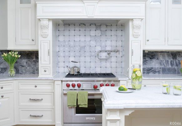 Akdo for a Contemporary Kitchen with a Akdo and Akdo Tiles Kitchen Backsplash by CheaperFloors