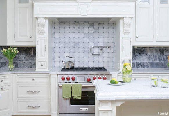 Akdo for a Contemporary Kitchen with a Akdo and Akdo Tiles Kitchen Backsplash by Cheaperfloors