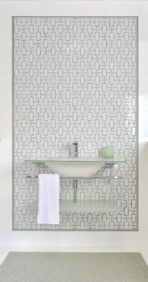 Akdo for a Eclectic Bathroom with a Stone and La Moda by Akdo