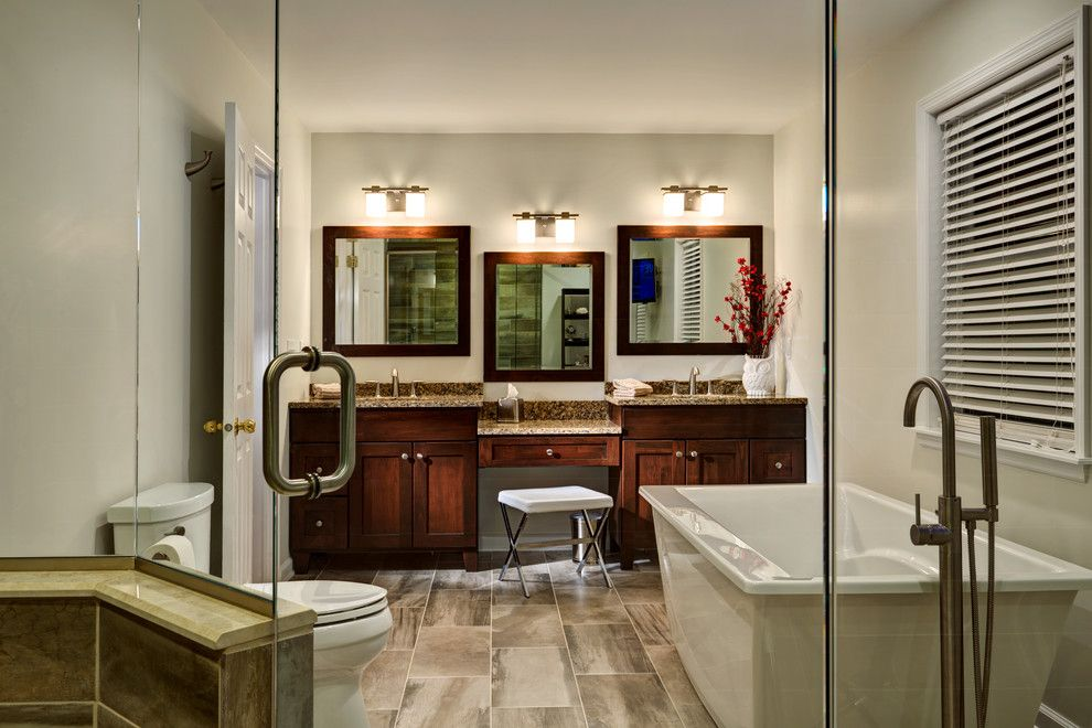 Aker Tubs for a  Bathroom with a  and Glenville, Ny Bathroom Remodel by Bellamy Construction