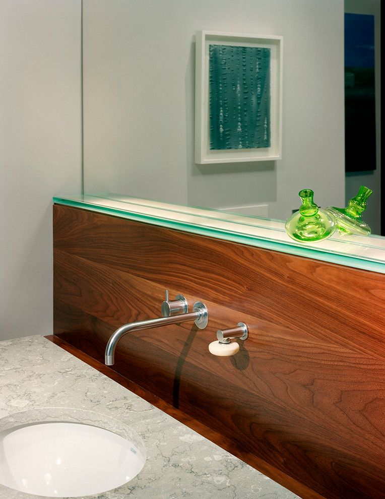 Aker Tubs for a Contemporary Spaces with a Contemporary Design and Hedwig Master Bath Remodeling by Shane Cook Designs