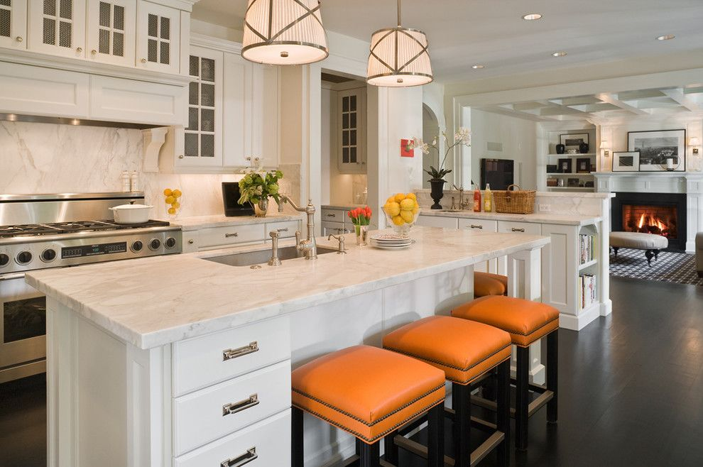 Albert Lee Appliance for a Traditional Kitchen with a Medium Pendant and Medina by Gr Home/graciela Rutkowski Interiors