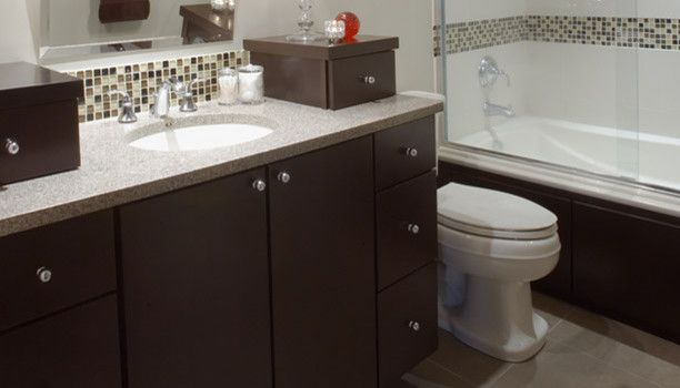 Alexander Lumber for a Modern Bathroom with a Vanity and New Cabinetry Pictures by Alexander Lumber Company