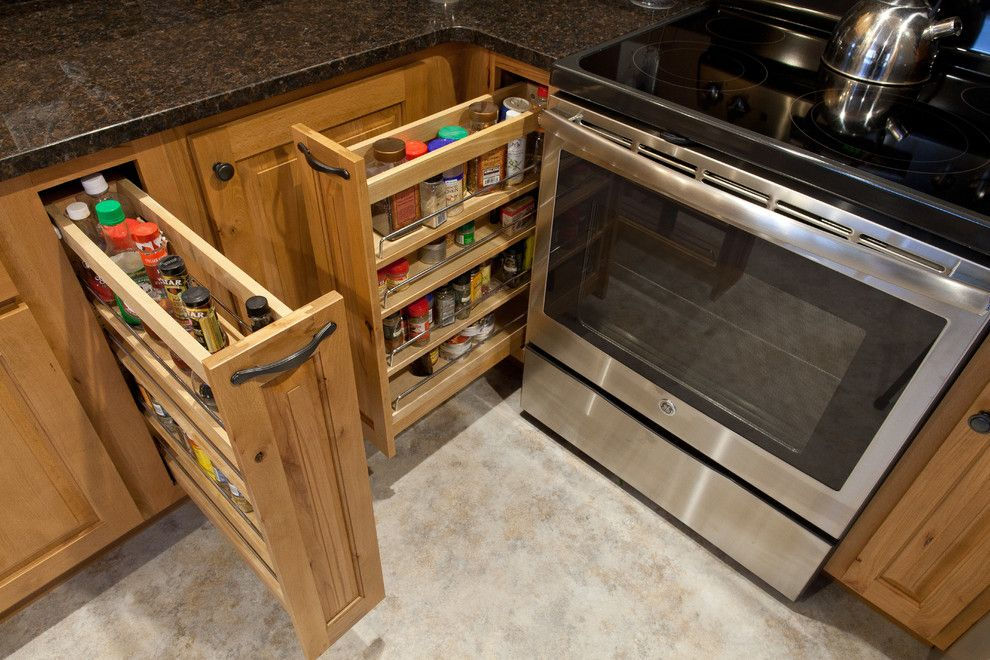 Alexander Lumber for a Traditional Kitchen with a Traditional and Missoula Small Kitchen by Boyce Lumber & Design Center