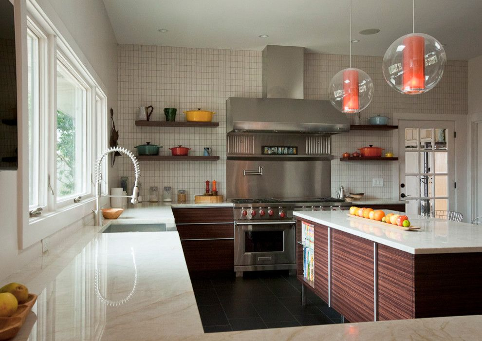 Allsouth Appliance for a Modern Kitchen with a Wolf Appliances and Kitchens by Allsouth Appliance Group, Inc.
