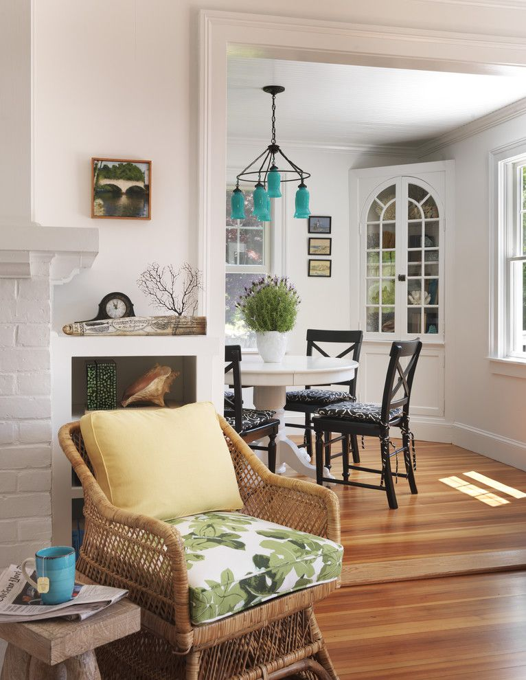 Alphera Financial Services for a Beach Style Dining Room with a Nautical and Living Room by Kate Jackson Design