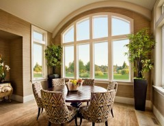 Alside for a Contemporary Dining Room with a Palladian and Montauk Home Portand Street of Dreams by Alside