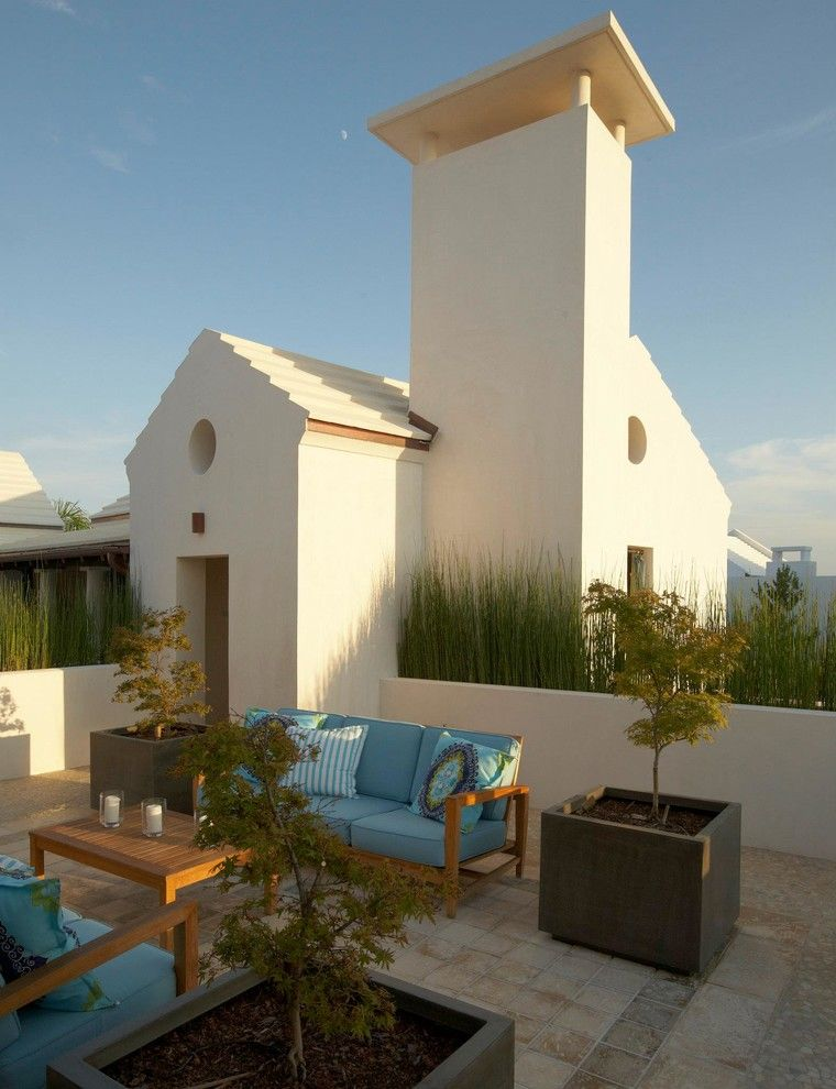 Alys Beach for a Mediterranean Patio with a Stucco and Alys Beach Residence by Artisan of Seagrove