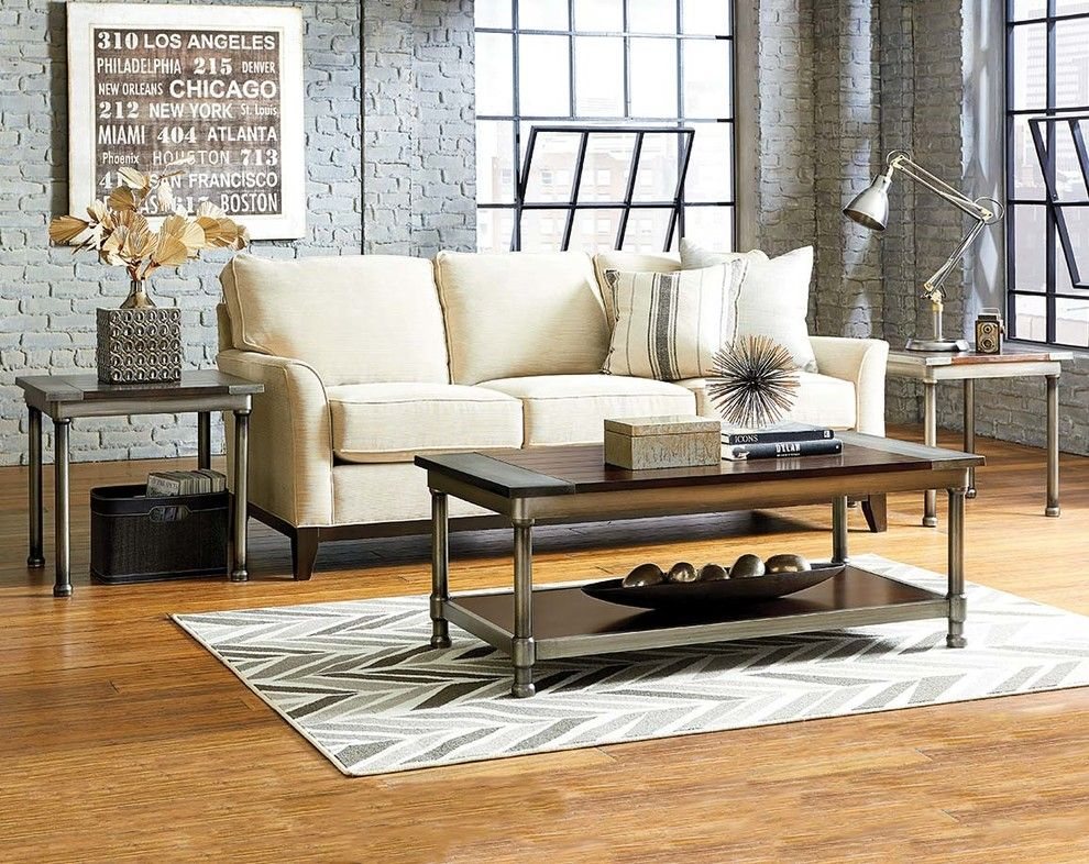 American Freight Furniture And Mattress For A Modern Living Room With A  Coffee Table And Hudson 3 Piece Table Set By American Freight Furniture And  Mattress