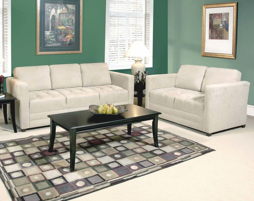 American Freight Furniture and Mattress for a Traditional Living Room with a Couch and Sienna Stone Sofa and Loveseat by American Freight Furniture and Mattress