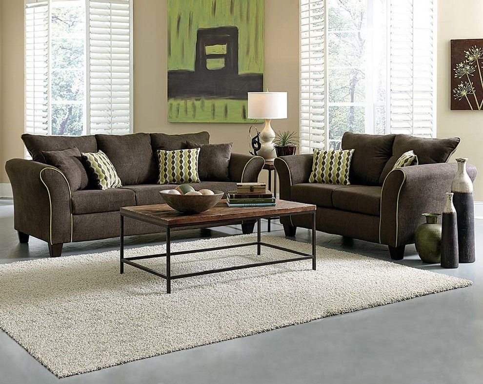 American Freight Furniture And Mattress For A Traditional Living Room With  A Green And Felix Chocolate