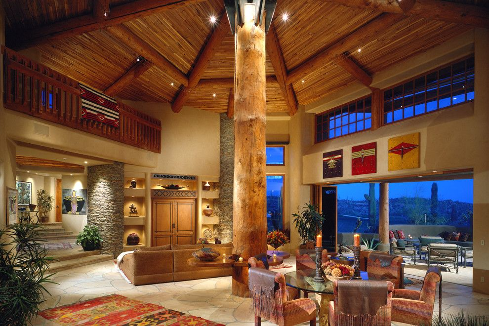 American Southwest Mortgage for a Southwestern Dining Room with a Southwest and Pueblo by the Phil Nichols Company