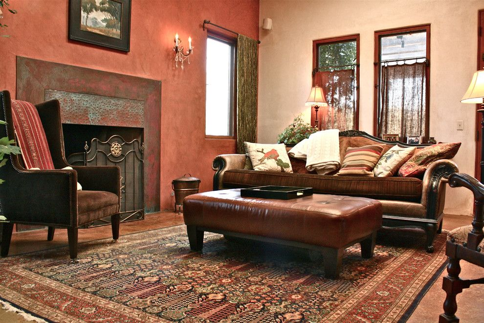 American Southwest Mortgage for a Traditional Living Room with a Traditional and Living Room by Shannon Malone
