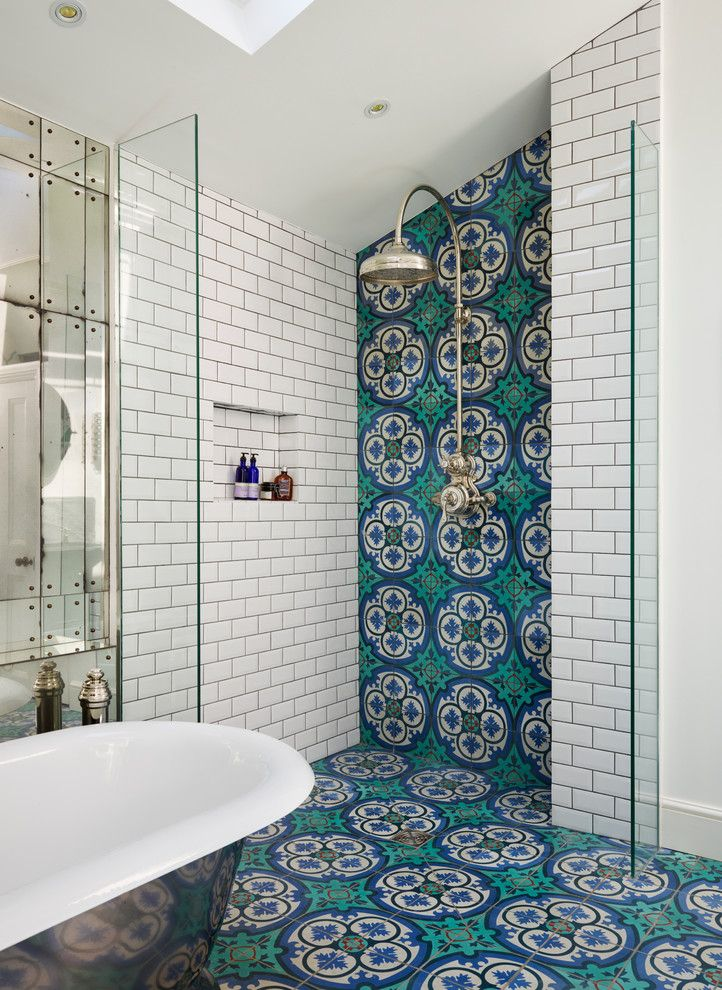 American Southwest Mortgage for a Victorian Bathroom with a Mirrors and Drummond's Case Study: Victorian Terrace House, South West London by Drummonds Bathrooms
