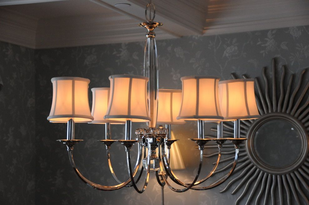Annapolis Lighting for a Traditional Dining Room with a Lighting Design and Cape May Beach House by Annapolis Lighting