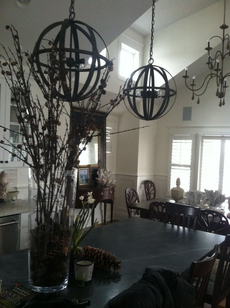 Annapolis Lighting for a Traditional Kitchen with a Chandelier and Avalon Beach House by Annapolis Lighting