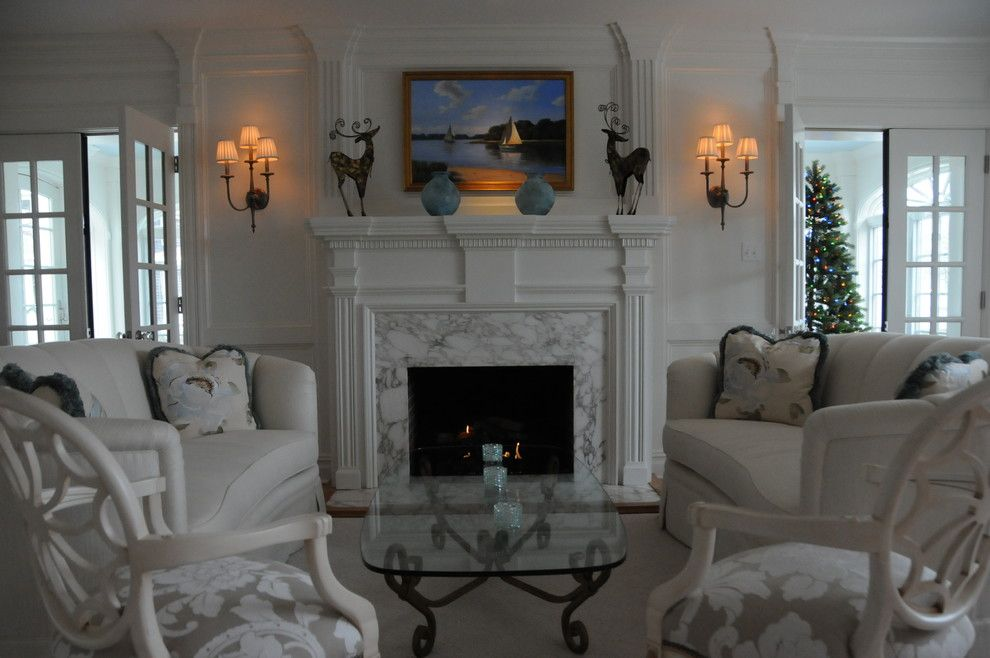 Annapolis Lighting for a Traditional Living Room with a Elegant and Cape May Beach House by Annapolis Lighting