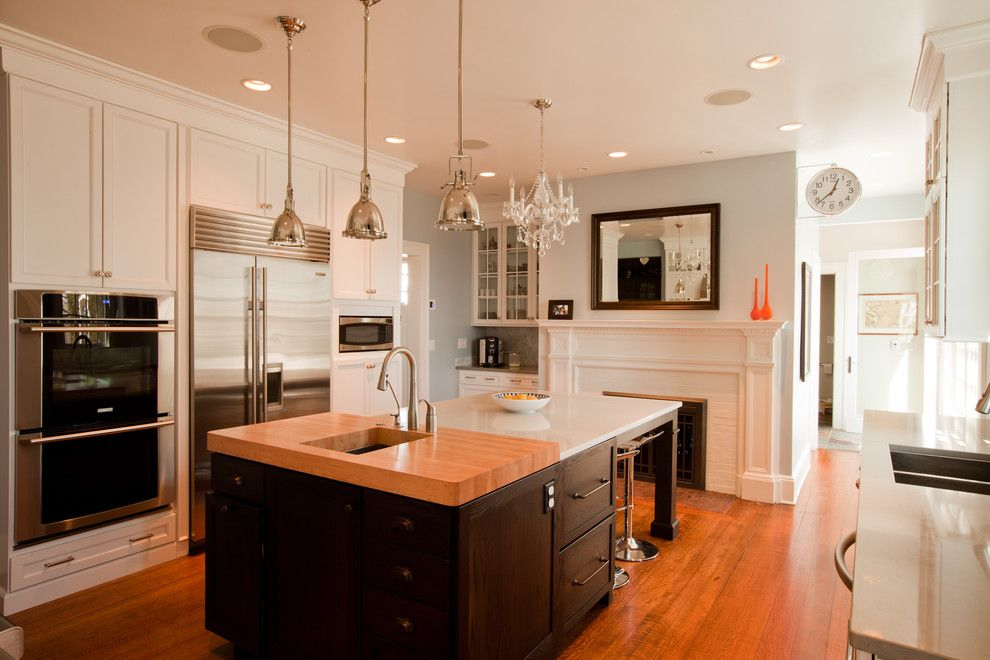 Appliance Parts Depot for a Traditional Kitchen with a Double Ovens and Transitional Glam Kitchen by Normandy Remodeling
