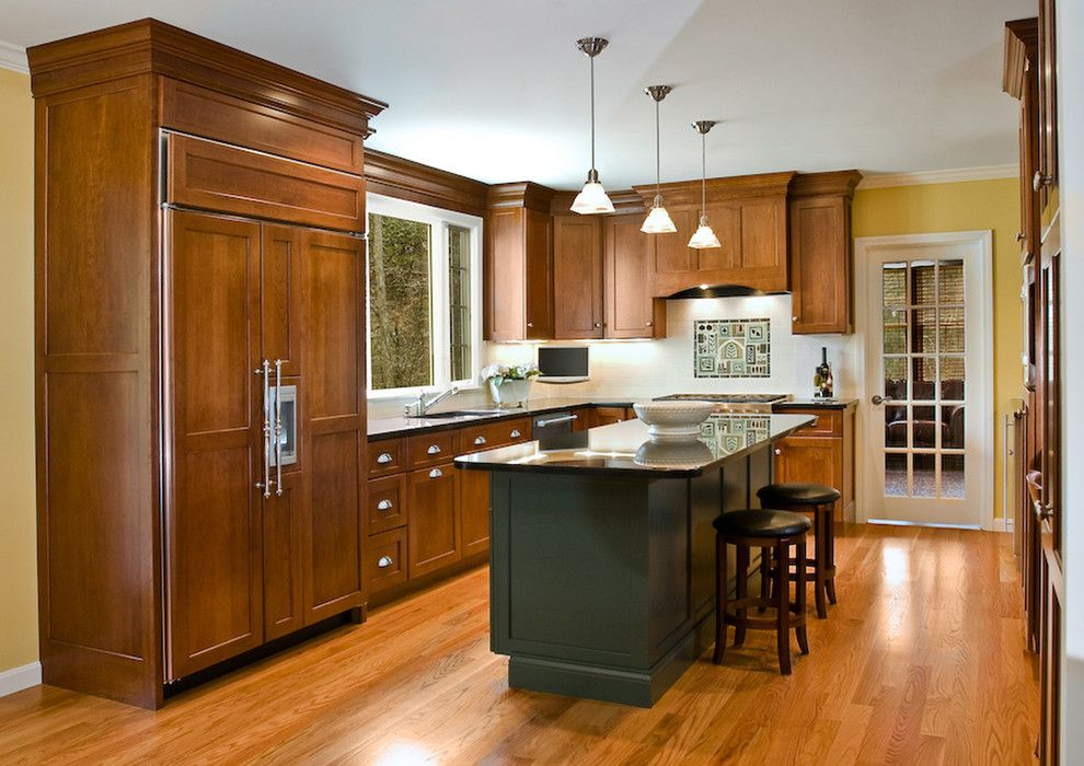 Appliance Parts Depot for a Traditional Kitchen with a Glass Pendant Lights and Kitchen Remodel by Mitchell Construction Group