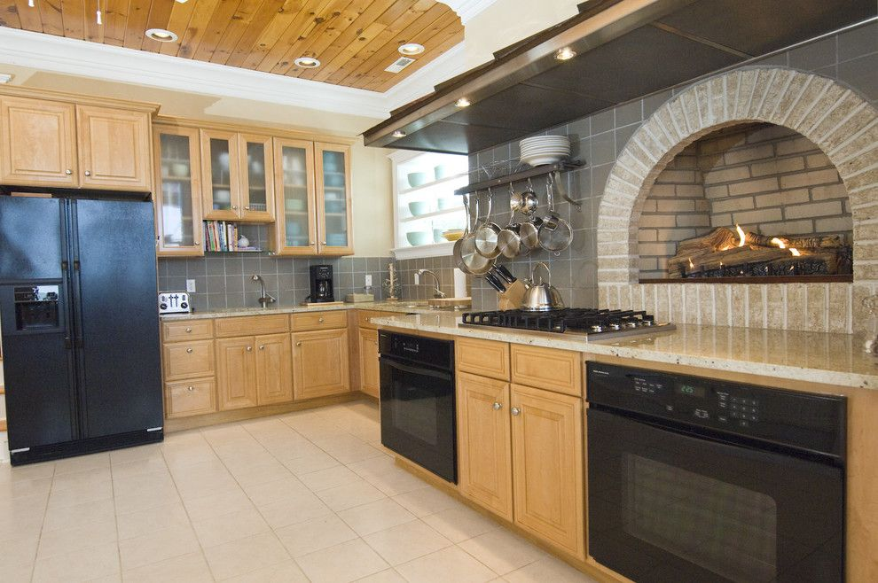 Appliance Parts Depot for a Traditional Kitchen with a Pot Rack and Kitchen Remodel at Beach House in Lewes, De. by Pine Street Carpenters & the Kitchen Studio