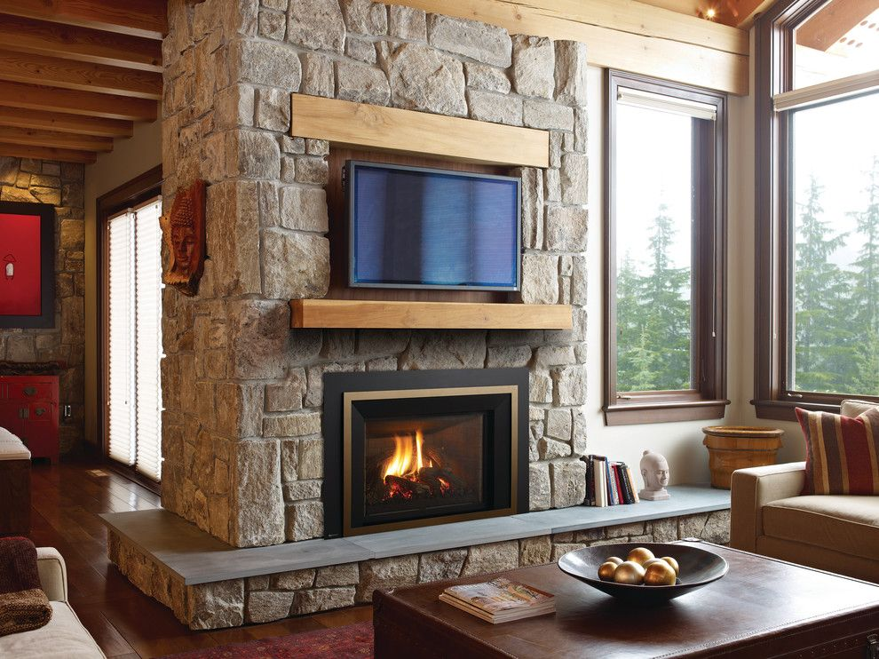 Aqua Quip for a  Living Room with a Fireplaces and Fireplaces by Aqua Quip