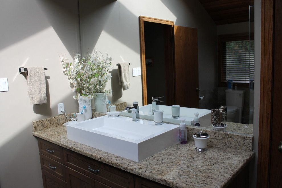 Aquabrass for a Contemporary Bathroom with a Contemporary and Aquabrass Lav Basin with Riobel Faucet by Schweitzer's Plumbing Centre