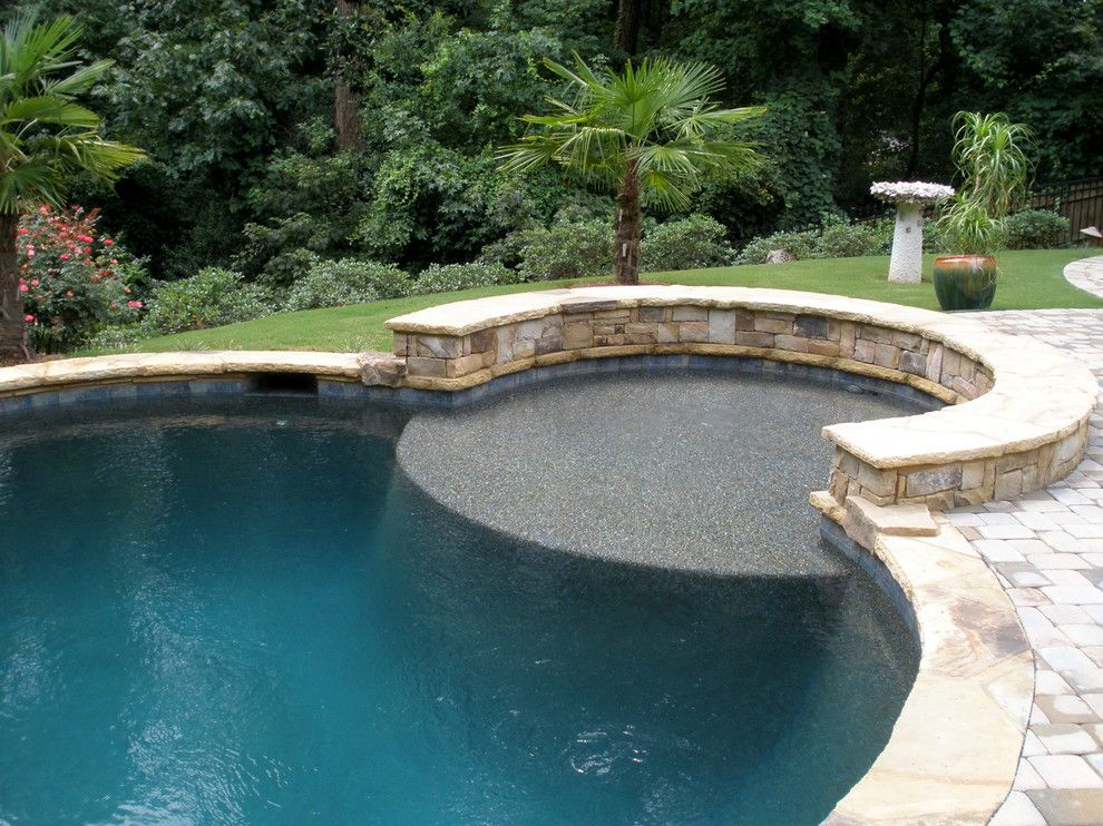 Aquarama for a Traditional Pool with a Traditional and Ultimate Backyard Experience by Aquarama Pools & Spas
