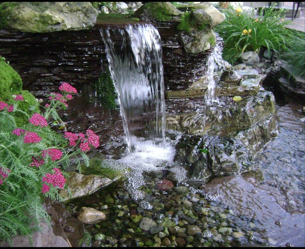 Aquascape For A Eclectic Landscape With A Landscape Contractor And Pondless  Waterfalls, Disappearing Waterfalls, Low Maintenance Landscape Edition By  BJL ...