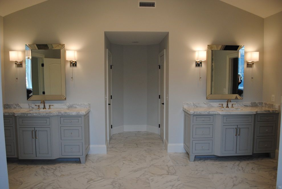 Architectural Ceramics for a Traditional Bathroom with a Marble Tile and Architectural Ceramics Calacatta Gold by Architectural Ceramics Tile & Stone