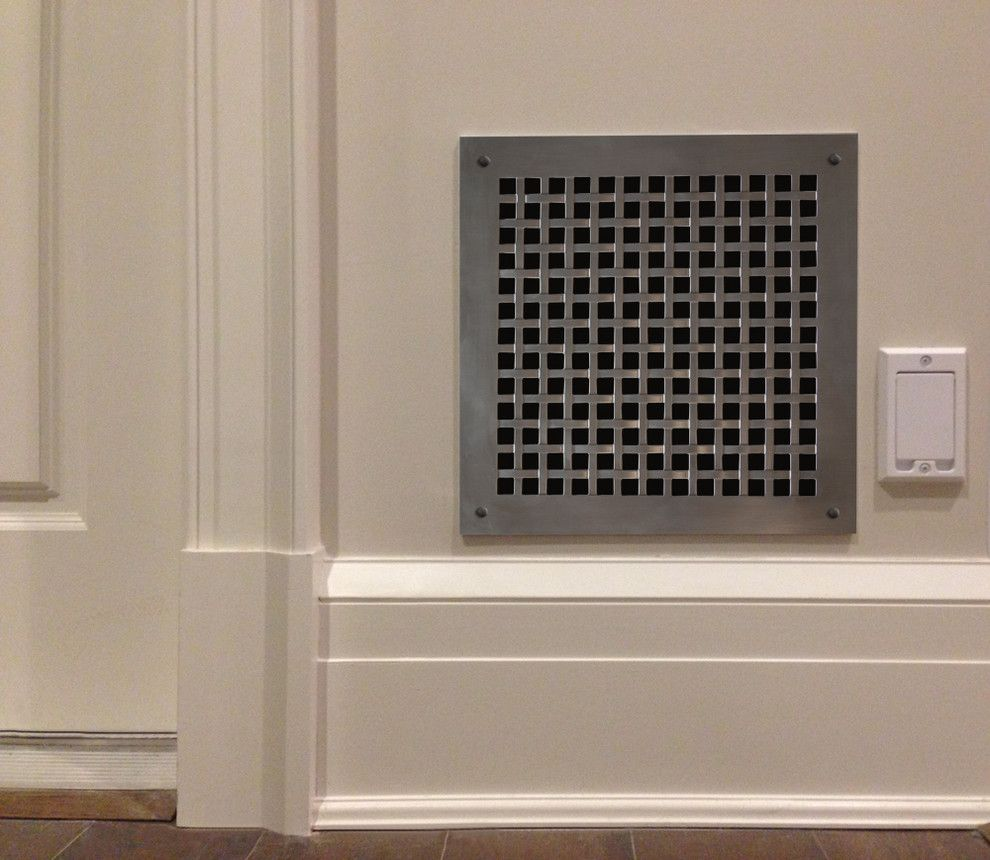 Architectural Grille for a Contemporary Spaces with a Linear Grille and PERFORATED GRILLES by ARCHITECTURAL GRILLE