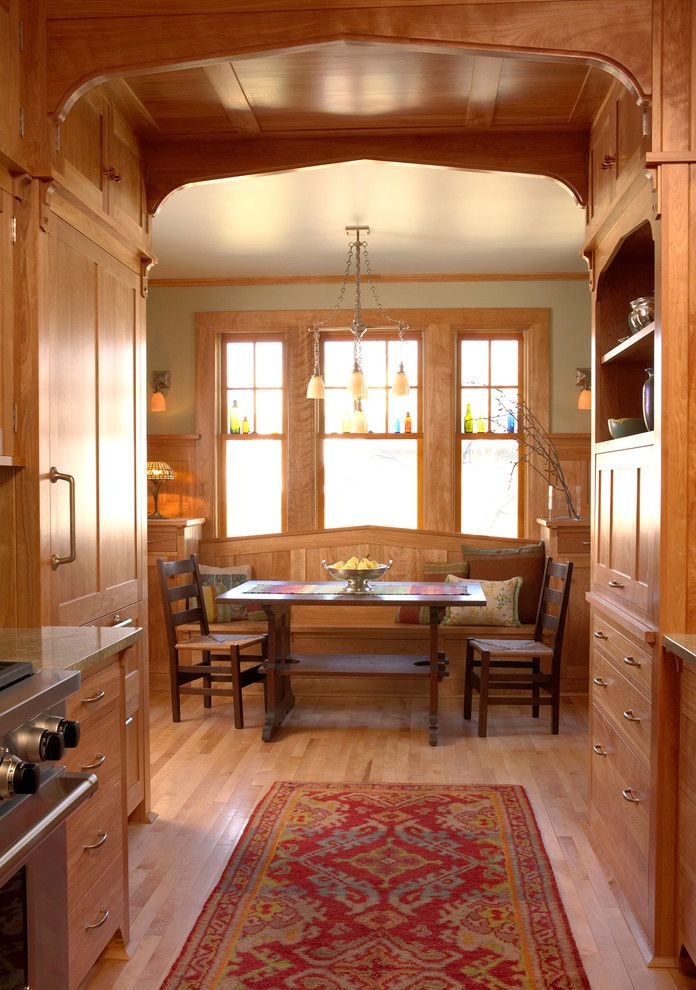 Architrave for a Craftsman Kitchen with a Wood Kitchen and Crocus Hill Residence by David Heide Design Studio