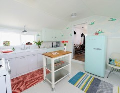 Armstrong Cabinets for a Eclectic Kitchen with a Vintage and Shack Attack by Sarah Phipps Design