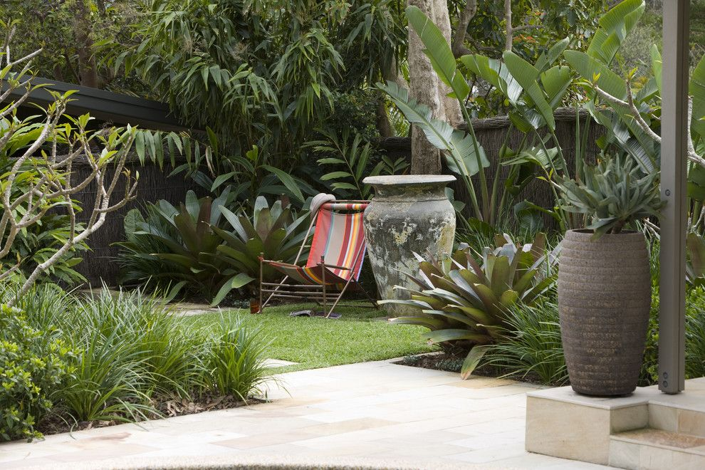 Armstrong Garden Center for a Modern Landscape with a Mass Plantings and Secret Gardens of Sydney by Secret Gardens