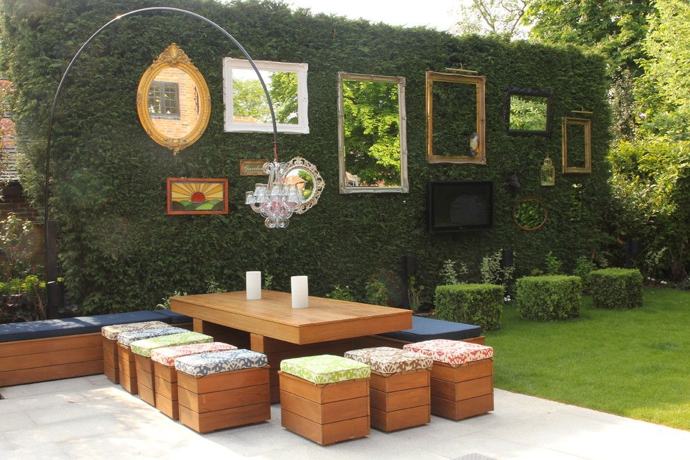 Armstrong Garden Center for a Shabby Chic Style Patio with a Outdoor Entertaining and the Garden Gallery by Cool Gardens Landscaping Ltd