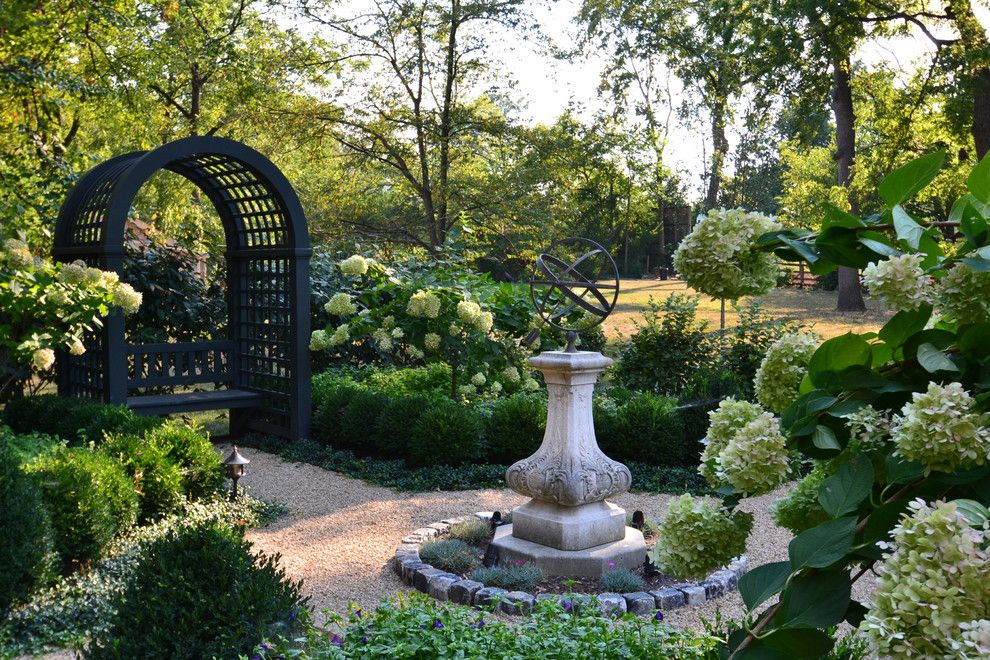 Armstrong Garden Center for a Traditional Landscape with a Stone Border and Burns Avenue by Architectural Landscape Design, Inc.