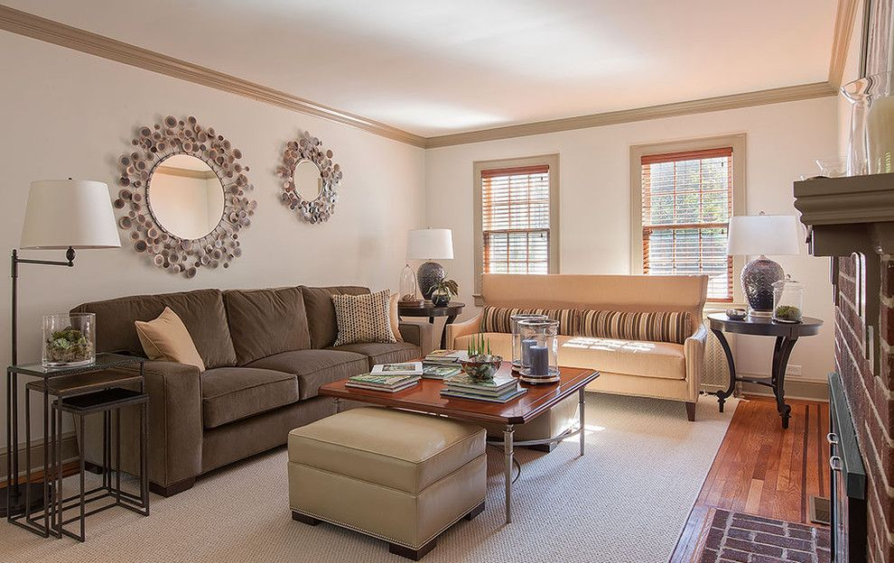 Arteriors Home for a Traditional Living Room with a Neutral Tones and Sophisticated Suburbia   in Westchester by B Fein Interiors Llc