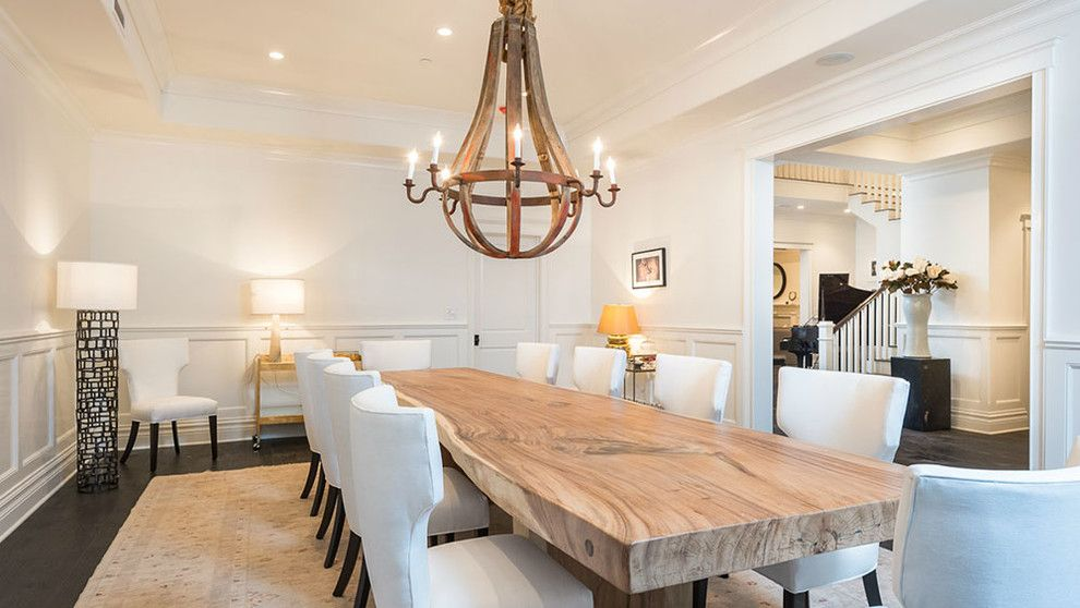 Arteriors Home for a Transitional Dining Room with a Wood Flooring and 122 North Anita by Meridith Baer Home