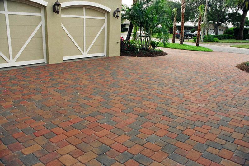 Artistic Pavers for a  Spaces with a Colored Driveway and Driveway Pavers & Surfaces by Artistic Pavers & Surfaces Inc