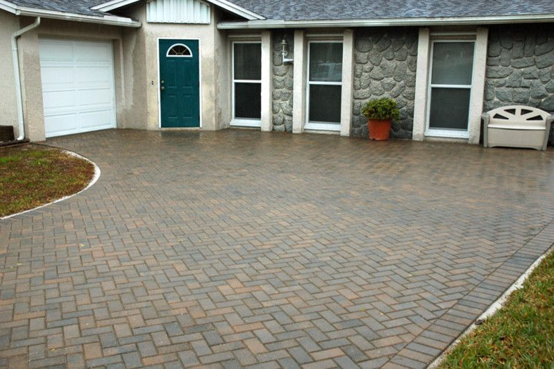 Artistic Pavers for a  Spaces with a Paved Driveway and Driveway Pavers & Surfaces by Artistic Pavers & Surfaces Inc