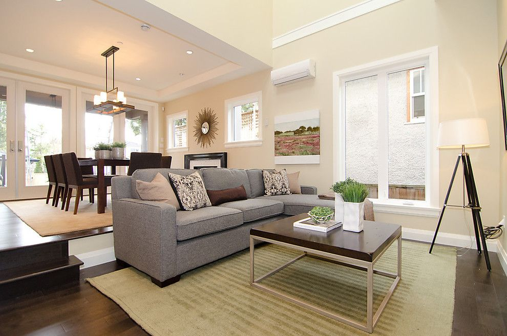 Ashley Furniture Columbia Sc For A Contemporary Living Room With A Area Rug  And OH Custom 4 By Odenza Homes Ltd