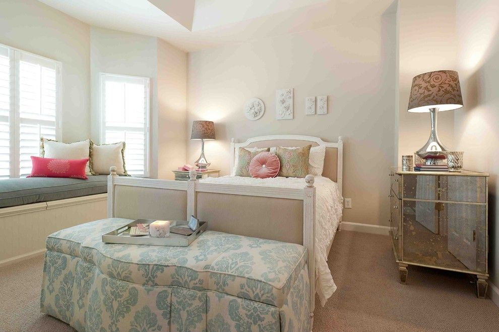 Ashley Furniture Columbia Sc for a Shabby Chic Style Bedroom with a Shabby Chic and Bedroom by Heather Odonovan Interior Design
