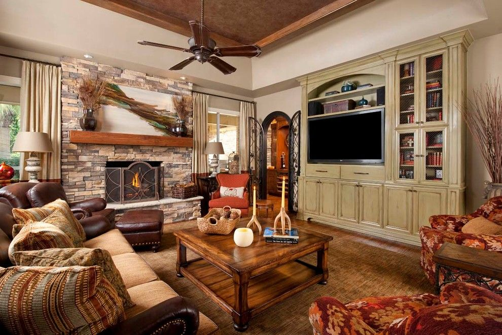 Ashley Furniture Columbia Sc For A Traditional Family Room With A Draperies  And Dallas Kitchen By